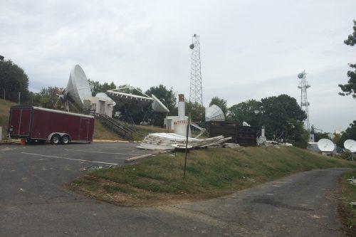 Dismantling of WIT Teleport in Washington USA