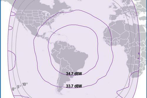 Intelsat IS-23 Global beam
