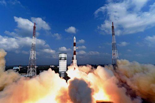 ISRO GSLV Mk II launching GSAT-14