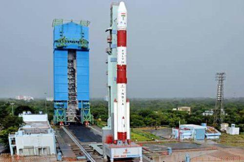 ISRO's PSLV rocket ready for launch
