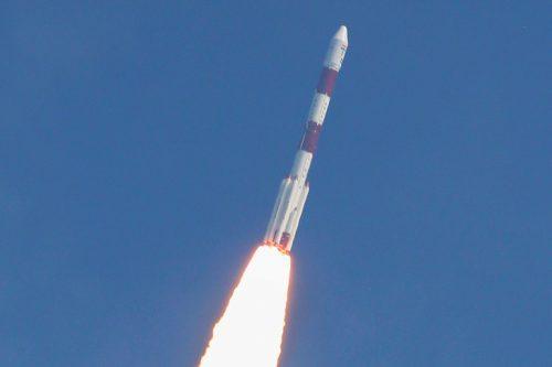 ISRO's PSLV rocket launching GSAT-12