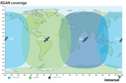 Inmarsat-4 coverage map