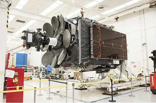 Inmarsat GX satellite built by Boeing