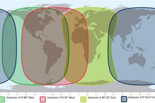 Inmarsat Global C-band coverage