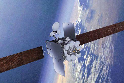 Inmarsat-5 F4 satellite in orbit