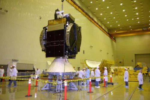 Intelsat-16 satellite prepared for launch