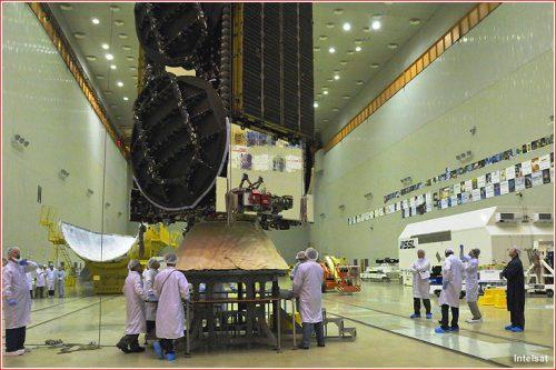 Intelsat-31 prepared for launch