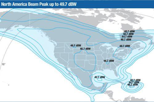 Intelsat Galaxy-11 Ku-band North America beam