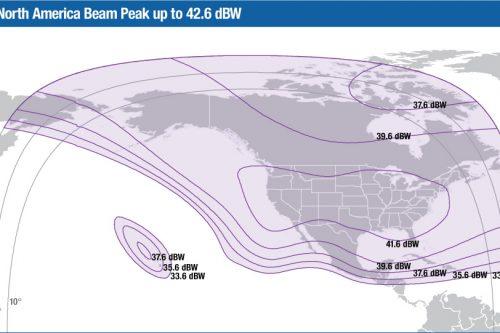 Intelsat Galaxy-12 C-band North America beam