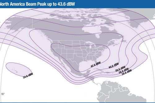 Intelsat Galaxy-16 C-band North Amercica beam