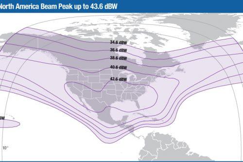 Intelsat Galaxy-17 C-band North America beam