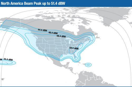 Intelsat Galaxy-17 Ku-band North America beam