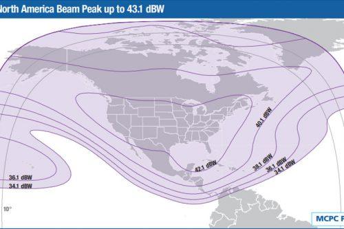 Intelsat Galaxy-19 C-band North America beam