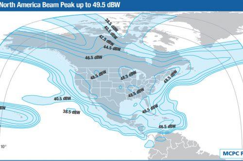 Intelsat Galaxy-19 Ku-band North America beam