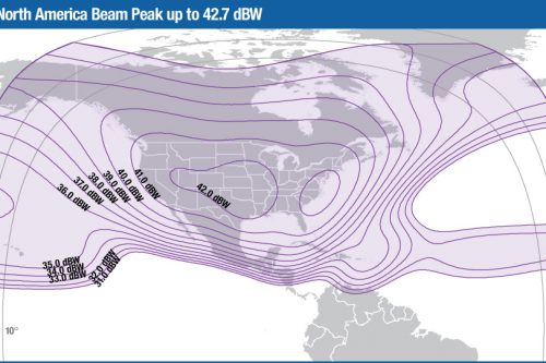 Intelsat Galaxy-28 C-band North America beam