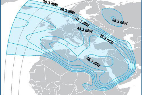 Intelsat IS-10 Europe:Middle-East beam
