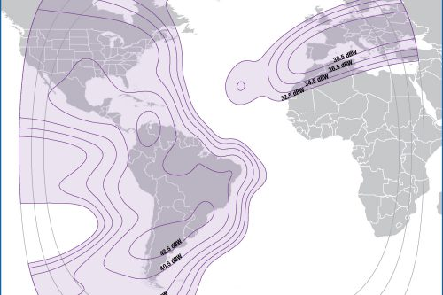 Intelsat IS-11 C-band Americas & Europe beam