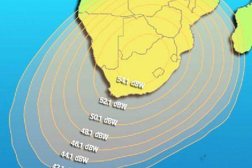 Intelsat IS-12 South Africa beam
