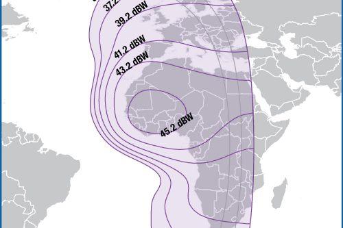 Intelsat IS-14 C-band Europe & Africa beam