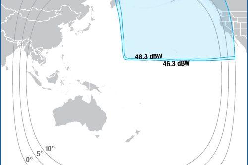 Intelsat IS-19 Ku-band North-East Pacific beam