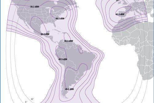 Intelsat IS-34 Americas & Europe beam