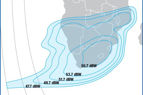 Intelsat IS20 Ku-band South Africa beam