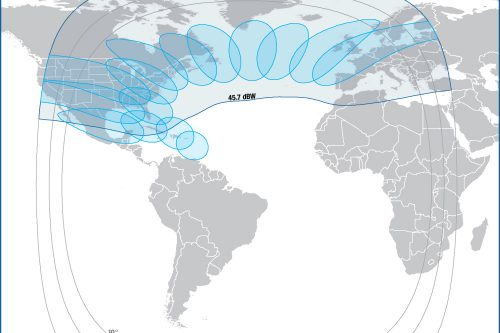 Intelsat IS32e Ku-band Multi-Spot & Transatlantic beam