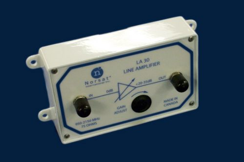 Norsat L-band Line Amplifier model LA30