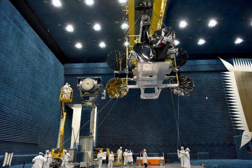 Nusantara Dua satellite under construction at CAST