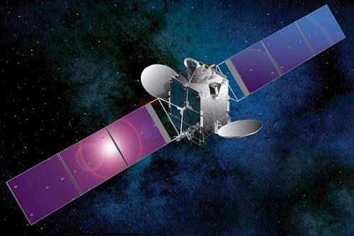 Optus 10 satellite in orbit