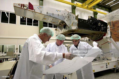 Orion 1 satellite under construction