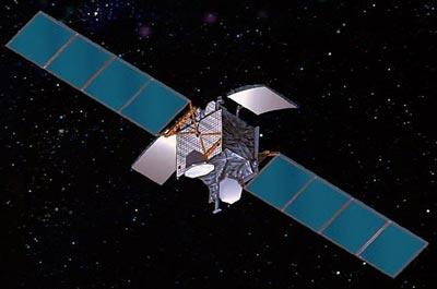 Orion-3 satellite in orbit