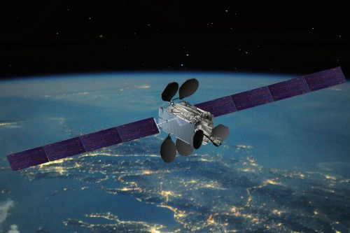 GSAT-9 satellite in orbit