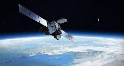Palapa N1 satellite in orbit