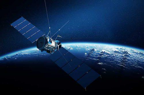 Spaceway 2 satellite in orbit