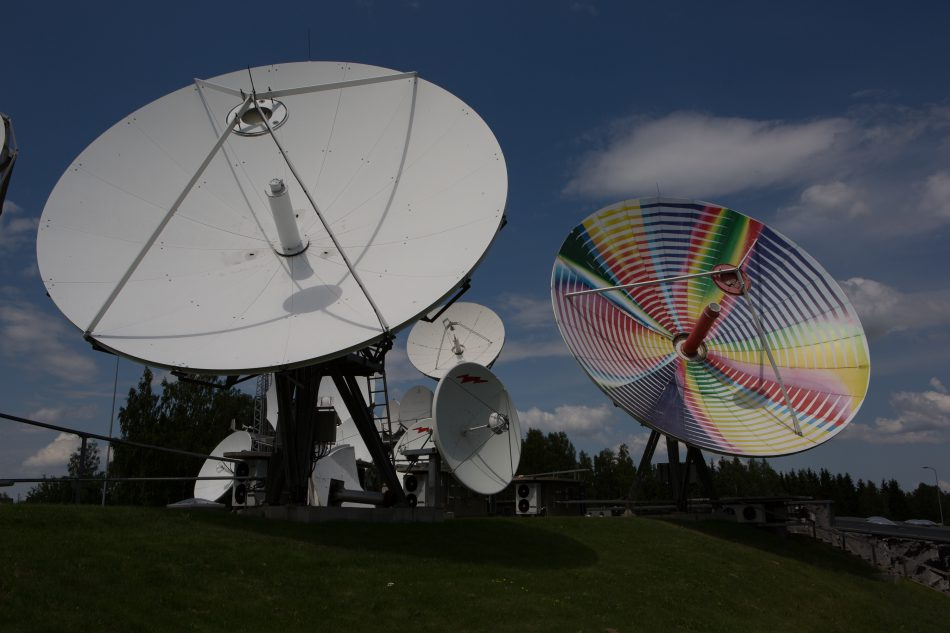VertexRSI 11.3m Earth Station Antenna installation at Satgate-Teleport-Lithuania