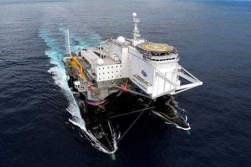 Sea Launch Odyssey launch platform