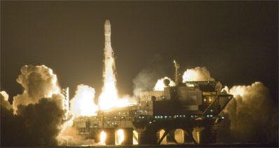 Sea Launch launching Galaxy-16
