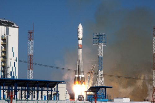 Soyuz FG launching Galaxy-14