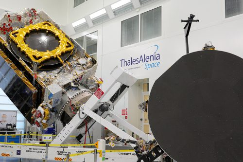 Thales Alenia Space satelliite manufacturing
