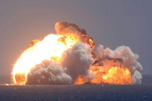 Zenit-3SL rocket with Intelsat-27 explodes on platform