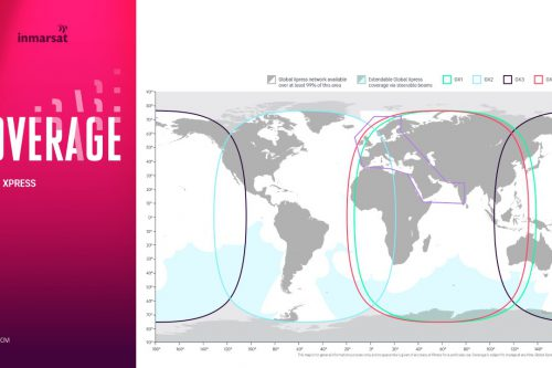 Inmarsat Global Xpress coverage may 2020