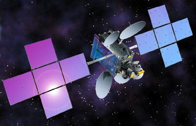 intelsat-36 satellite in orbit
