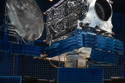 PSN 6 satellite under test