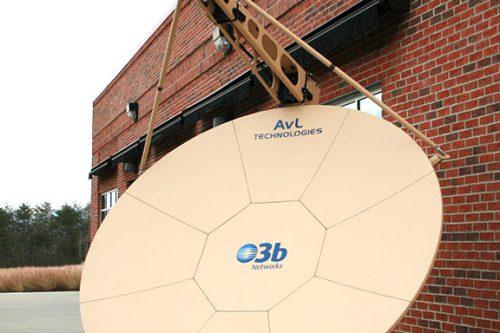 AVL Technologies 2.4m MEO Transportatble Tracking Ka-band Antenna