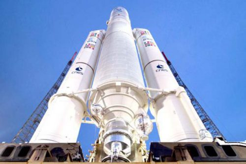 Ariane 5 rocket ready for launch