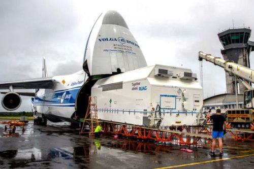 BSAT-4b arrives at Arianespace