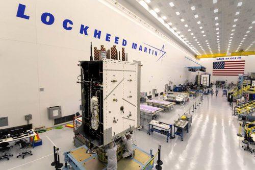 Lockheed Martin built BSat-3a