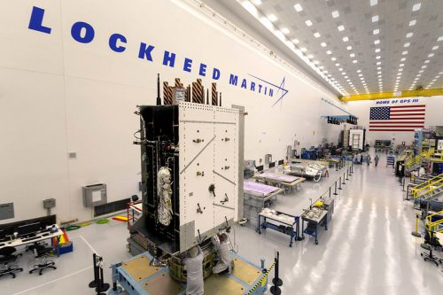 BSat-3b constructed by Lockheed Martin