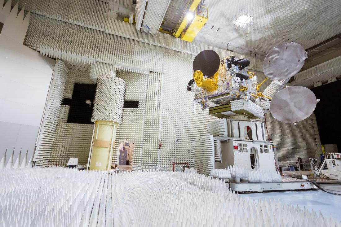 BCSCL' Bangabandhu-1 satellite under test
